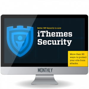 iThemes Security PRO - Monthly Update