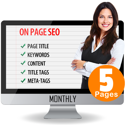 On Page SEO – 5 Pages site